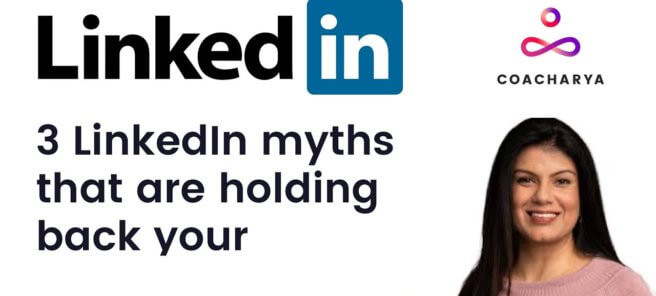 Webinar on 3 LinkedIn myths that are holding back your business