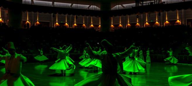 Whirling: Vigyana Bhairava Tantra