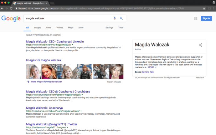 Magda Walczak search results