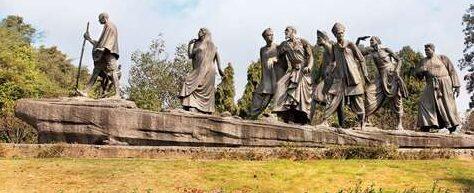 Gandhi Sculpture