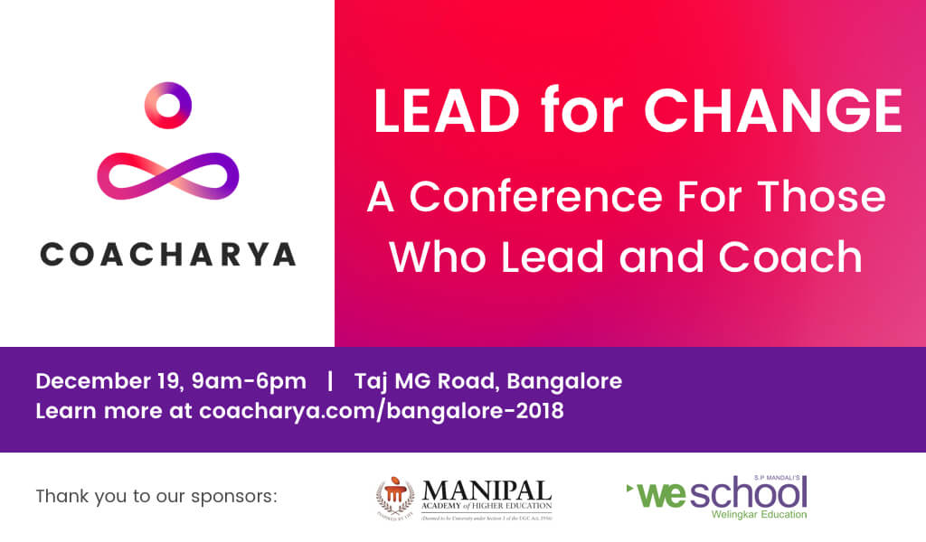 Social Media - Coacharya Bangalore Conference 2018